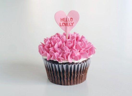 「ウィルトンの基本のカップケーキデコレーション♪」の写真