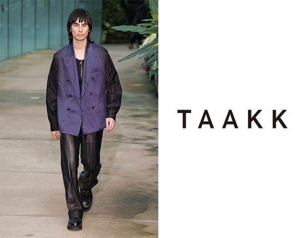 TAAKK / 新作アイテム入荷