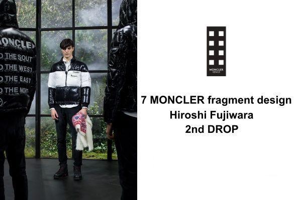 7 MONCLER FRAGMENT  HIROSHI FUJIWARA 2nd DROPの写真