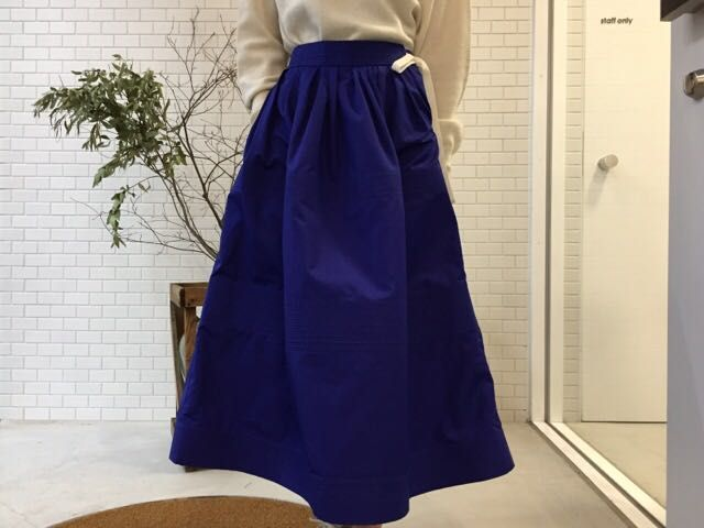 SOFIE D'HOOREのQuilted Panels Flared Skirtの写真