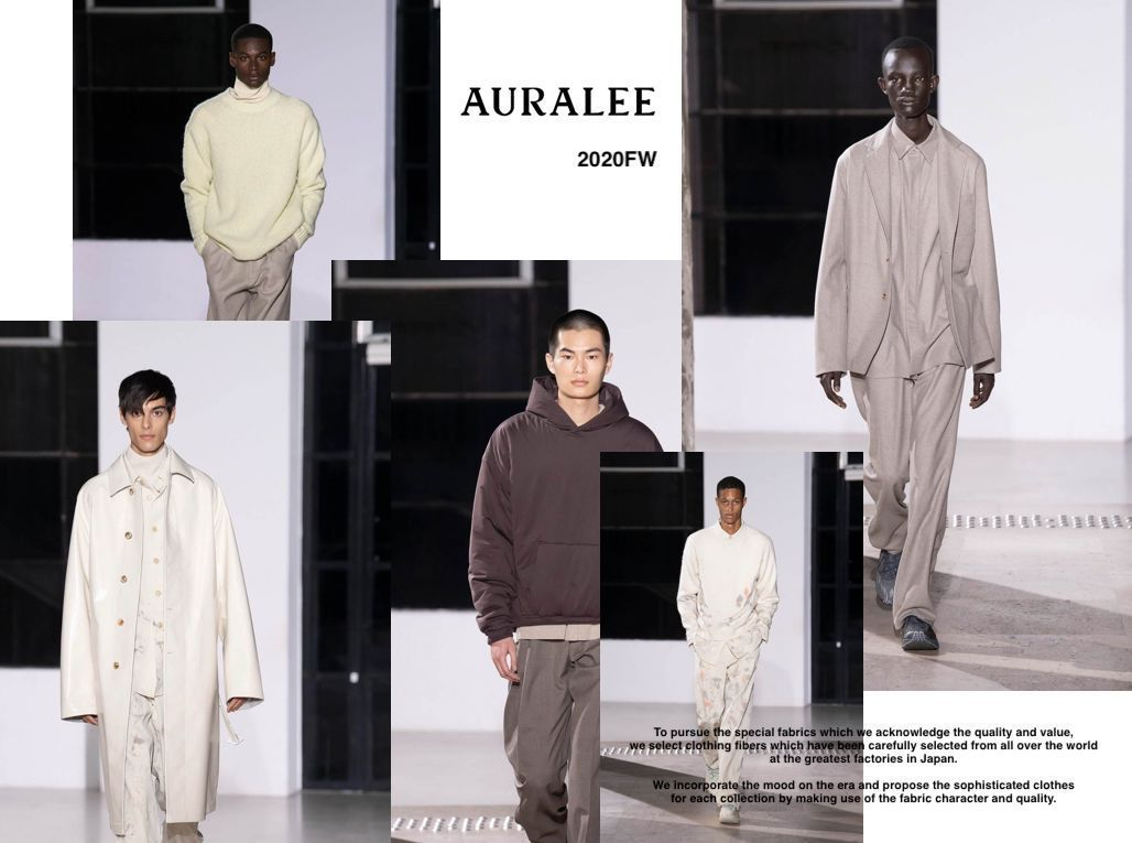 AURALEE 2020FWの写真