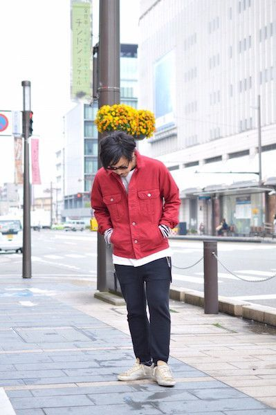 【 The Letters 】/ Military Ventile Jacket : Stylingの写真