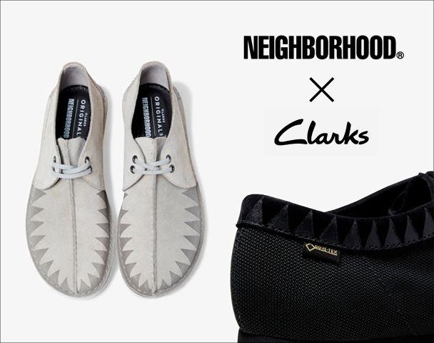 "NEIGHBOR HOOD × Clarks コラボレーションアイテム入荷 ""NHCL . TREK / CL-SHOES""andmoreの写真"