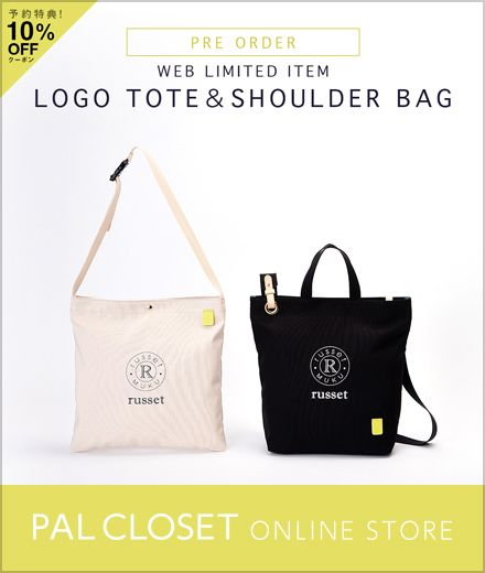 WEB LIMITED ITEM LOGO TOTE&SHOULDER BAG