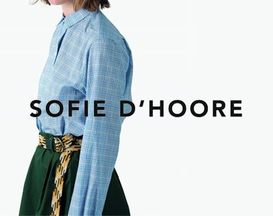 SOFIE D'HOORE 17/SS 新着アイテム