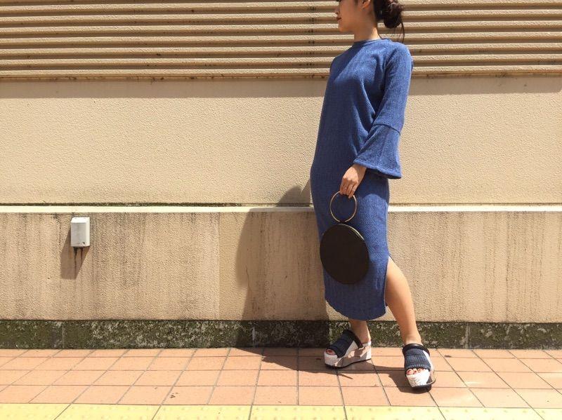 ground pattern dressの写真