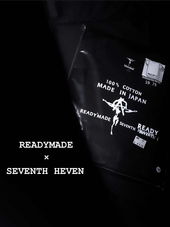 【READYMADE × SEVENTH HEVEN】3-Pack Tee 7月23日(木)発売の写真
