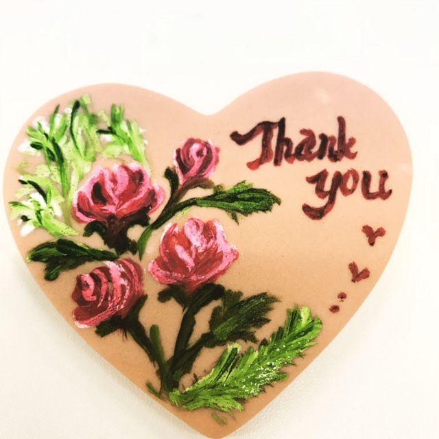 「ありがとうございました」の写真