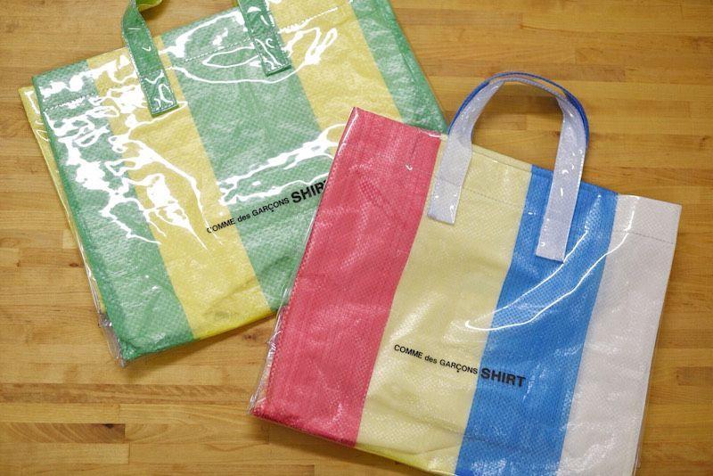 【 COMME des GARCONS SHIRT】/ PVC bagの写真