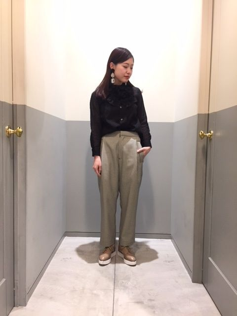 sheer dot × gun club checkの写真