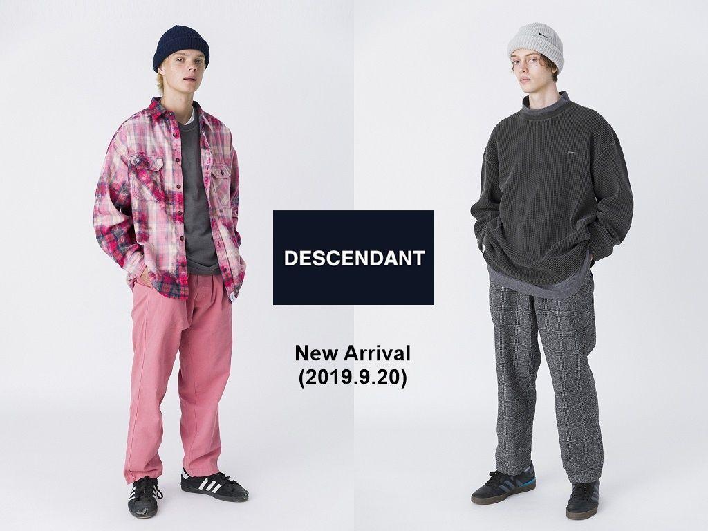 DESCENDANT New Arrival (2019.9.20)の写真