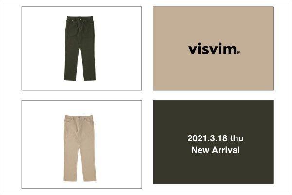 visvim 2021.3.18 thu New Arrivalの写真