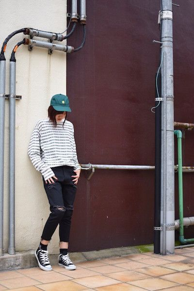 【 STUDIO SEVEN 】/ SEVEN BORDER BASIC LONG TEE for Ladyの写真