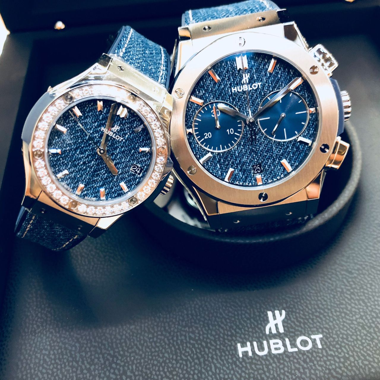 on sale 7d7a2 24333 HUBLOT × ジーンズ   タイムアート店   岡山拠点のトミヤ ...