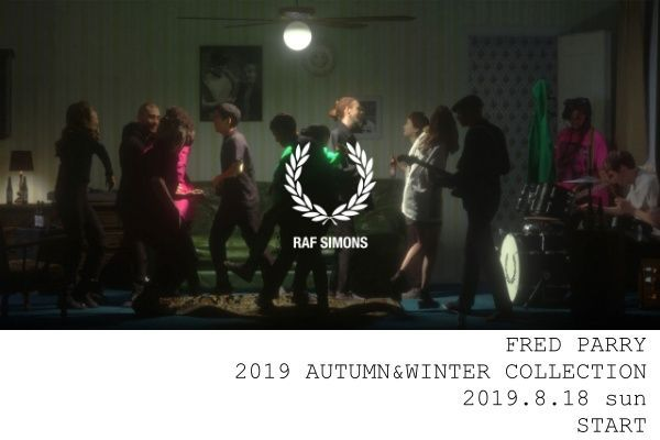 FRED PERRY 2019 AUTUMN&WINTER COLLECTIONの写真