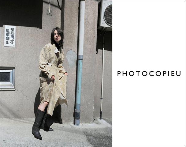PHOTOCOPIEU/21AW Collection STARTの写真