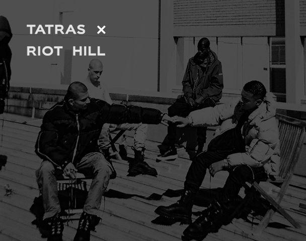 TATRAS×RIOT HILL POP-UP STORE の写真