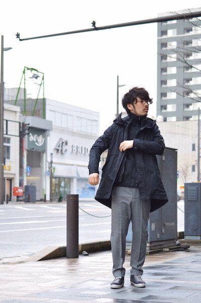3 way spring coat 【 TATRAS 】の写真
