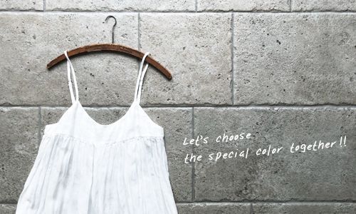 News >> Let's choose the special color together !!