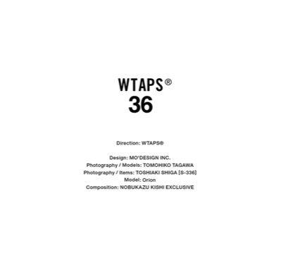 WTAPS® VISUAL UPARMORED 2018 1st. EX.36 START!!の写真
