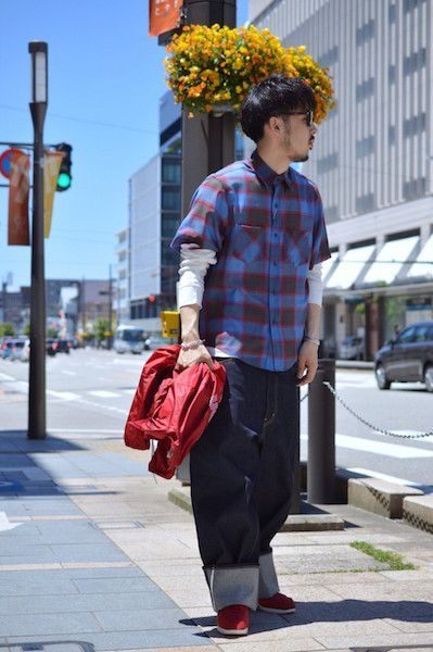【 FACETASM 】/ CHECK SHORT SLEEVE SHIRT : Stylingの写真