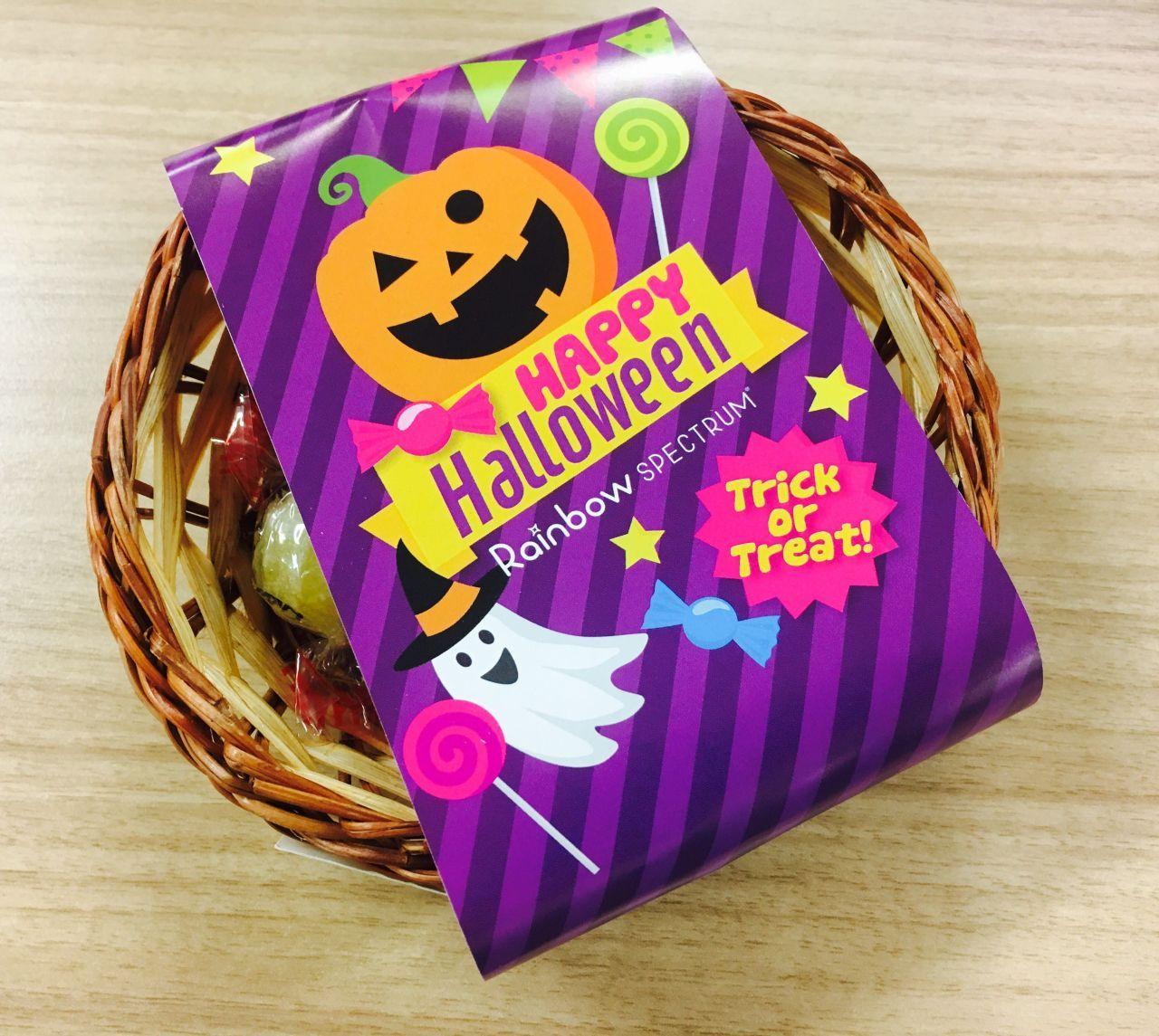 「ハロウィンはRainbowで決まり!!」の写真