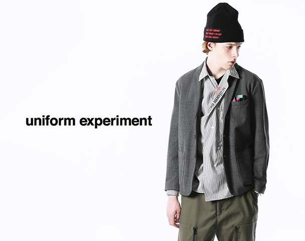 uniform experiment / 新作アイテム入荷
