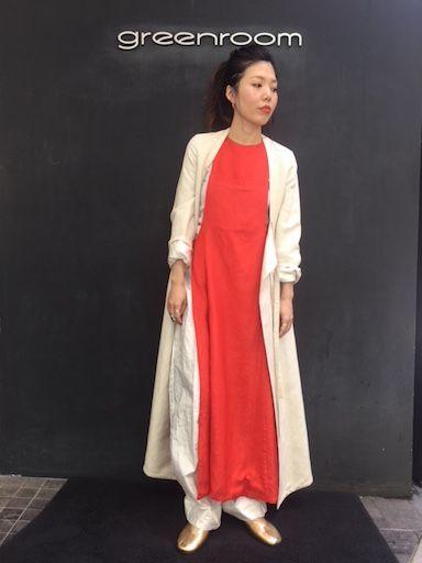 赤いFUMIKAの写真
