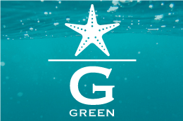 <GREEN><br />夏に輝くさわやかなグリーン