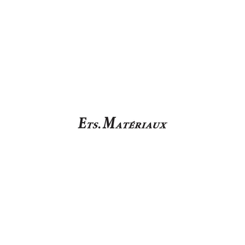 ETS. MATERIAUX  New Arrival (2021.6.12)の写真