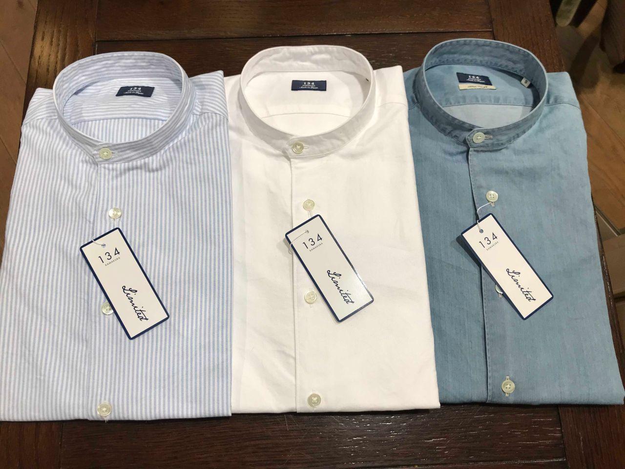 鎌倉本店に、カジュアル134から新作のシャツが入荷しました!