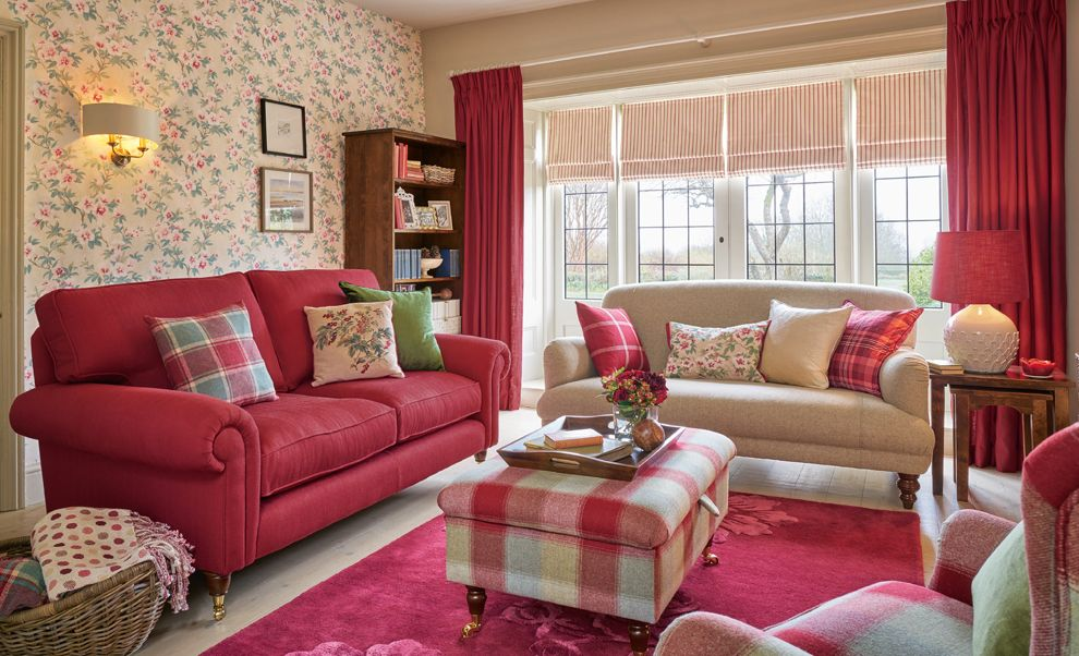 autumn cosiness with cranberry cottage laura ashley. Black Bedroom Furniture Sets. Home Design Ideas