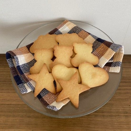 「【Wiltonレシピ】型抜きクッキーの作りかた」の写真