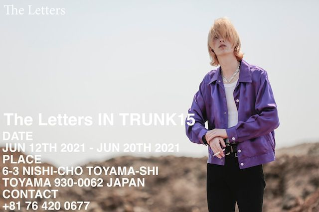 The Letters IN TRUNK15 Plus USED CLOTHINGの写真