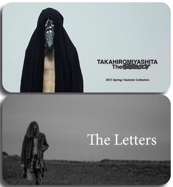 【 TAKAHIROMIYASHITA The Soloist. / The Letters 】New Arrival!の写真