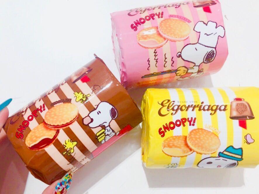 「スヌーピー★クリームサンド」の写真