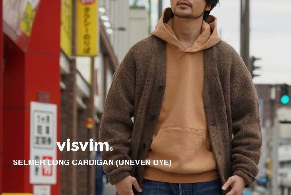 visvim SELMER LONG CARDIGAN (UNEVEN DYE)の写真