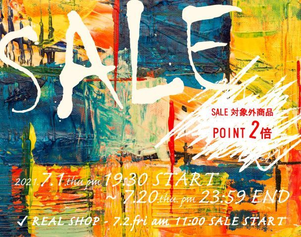 SALE 2021.7.2.fri〜の写真