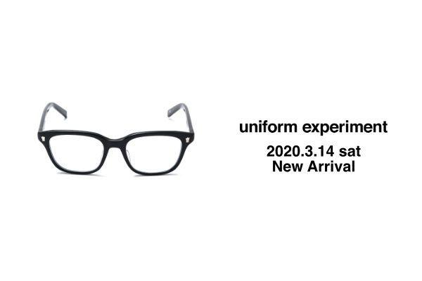 uniform experiment  2020.3.14 sat  New Arrivalの写真