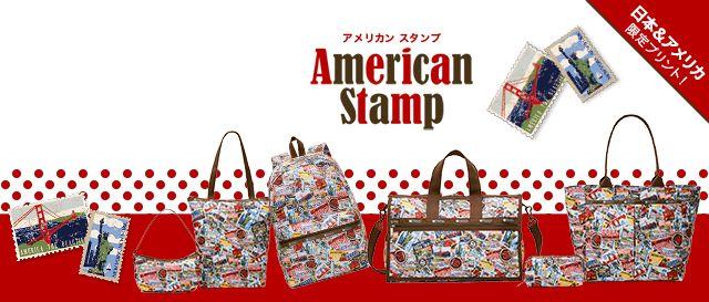 レスポートサック American Stamp
