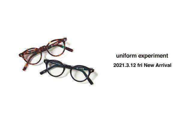 uniform experiment 2021.3.12 fri  New Arrivalの写真