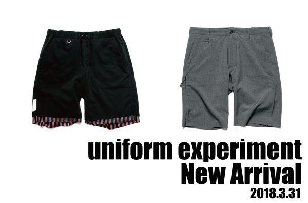 uniform experiment New Arrival (2018.3.31)の写真