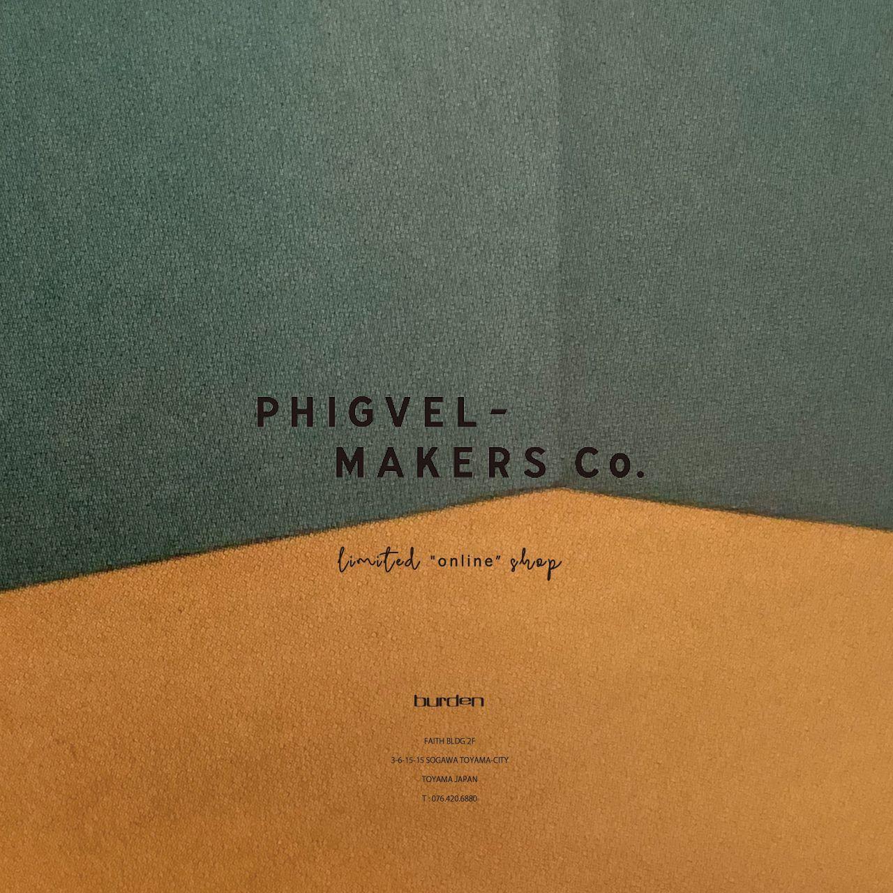 PHIGVELオンラインポップアップのお知らせ。の写真