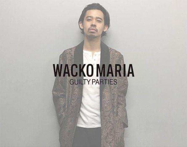 WACKO MARIA / 新作アイテム入荷