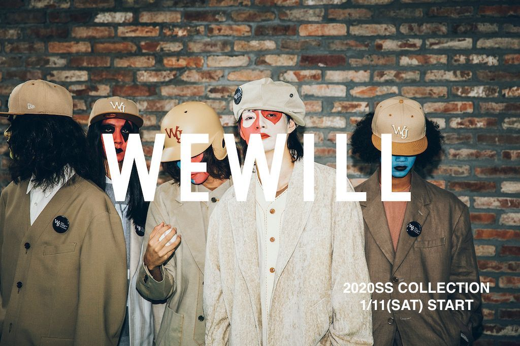 WE WILL & POLYPLOID 2020SS COLLECTION 1/11(SAT) START!!の写真