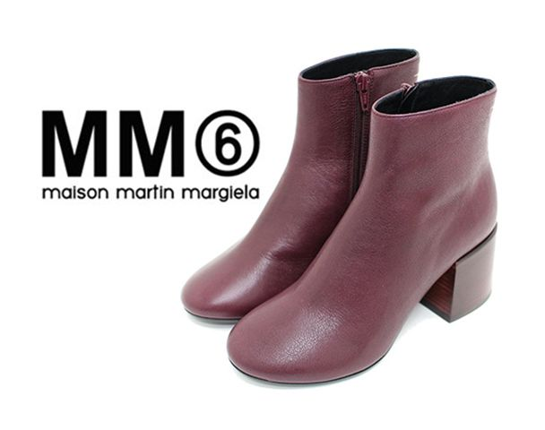 """MM⑥ Maison Margiela 17/AW 新着アイテム""""Leather boots""""and moreの写真"""