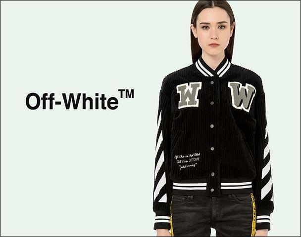 "OFF-WHITE / ""DIAG CORDUROY VARSITY"" 入荷の写真"