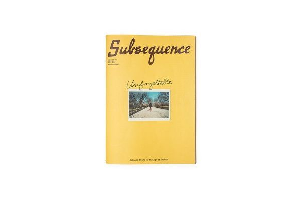 Subsequence Magazine Vol.2の写真