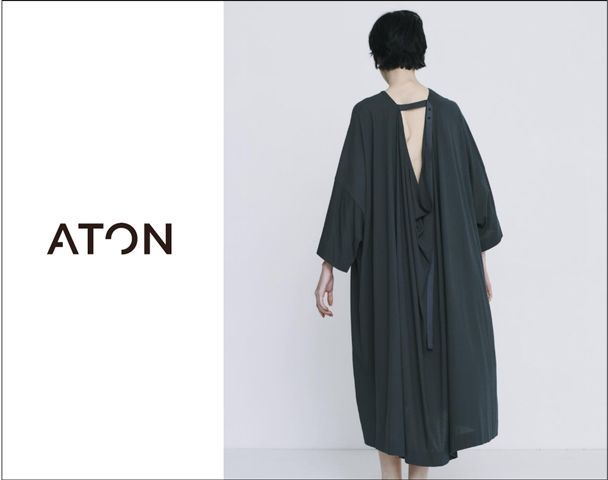 "​​ATON / 新作アイテム入荷 ""FRESCA ZERO BACK DRAPED DRESS""and moreの写真"