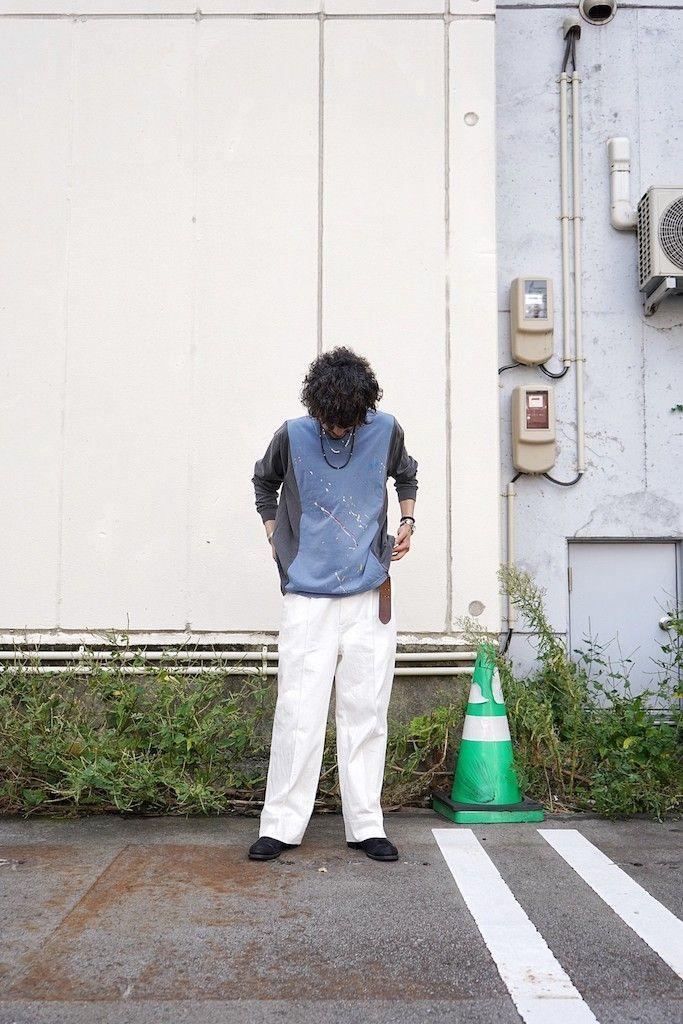 mill / REMODEL L/S T-SHIRT 【 style sample 4 】の写真
